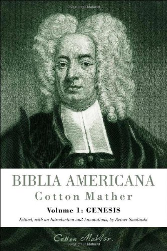 Biblia Americana : Genesis America's First Bible Commentary: Smolinski, Reiner, Editor & ...