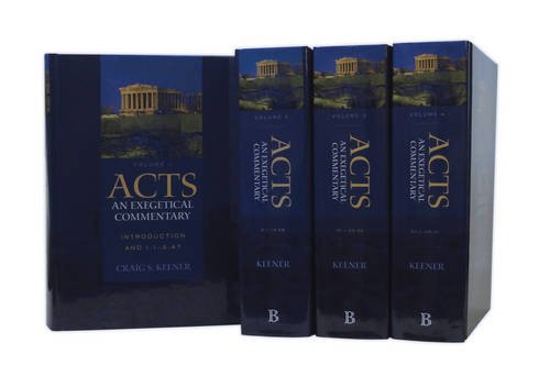 9780801039898: Acts: An Exegetical Commentary