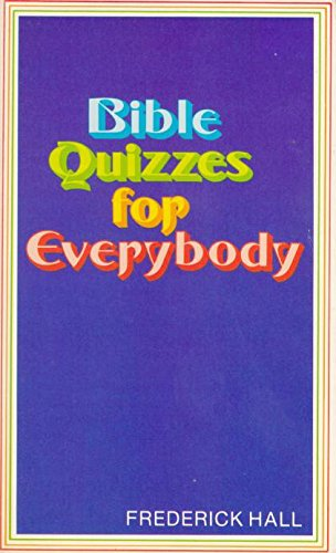 9780801040320: Bible Quizzes for Everybody
