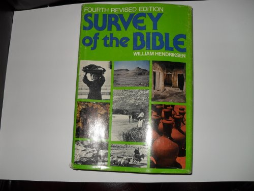 9780801041198: Survey of the Bible: A treasury of Bible information