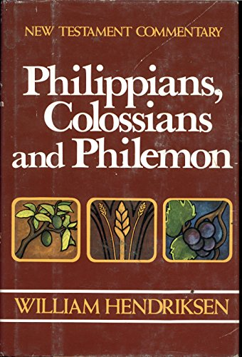 9780801042126: Philippians, Colossians, & Philemon: Combined Repr of 1962 Epistle to the Philippians and 1964 Epistles to Colossians and Philemon (New Testament Commentary)