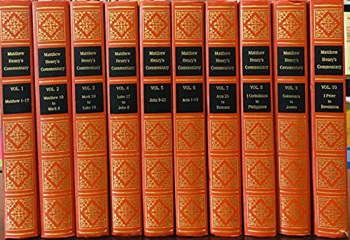 Matthew Henry's Commentary on the New Testament (10 volume) (0801042771) by Henry, Matthew