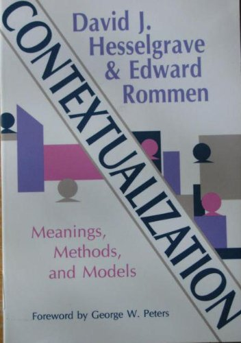 9780801043383: Contextualization: Meanings, Methods, and Models