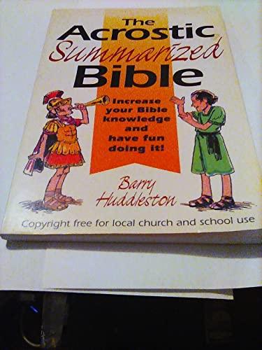 9780801043512: The Acrostic Summarized Bible