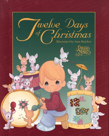 9780801044106: Twelve Days of Christmas (Precious Moments)