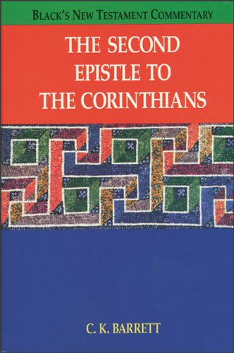 9780801045578: The Second Epistle to the Corinthians (Black's New Testament Commentary)