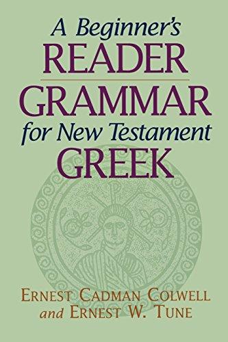 9780801045912: A Beginner's Reader-Grammar for New Testament Greek