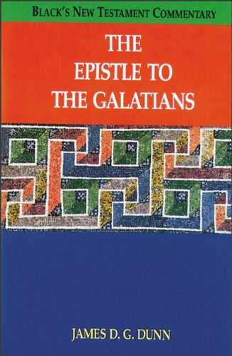 9780801046117: The Epistle to the Galatians (Black's New Testament Commentary)