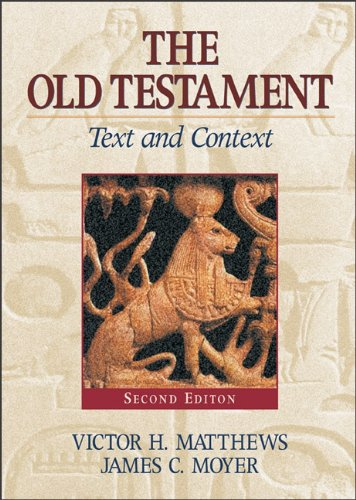 9780801047060: The Old Testament: Text and Context