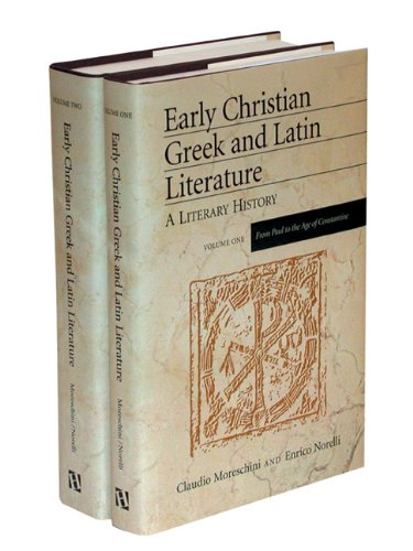 9780801047190: Early Christian Greek and Latin Literature: A Literary History
