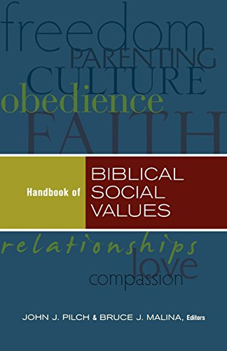 9780801047459: Handbook of Biblical Social Values