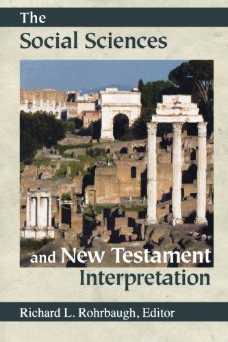 9780801047589: The Social Sciences and New Testament Interpretation