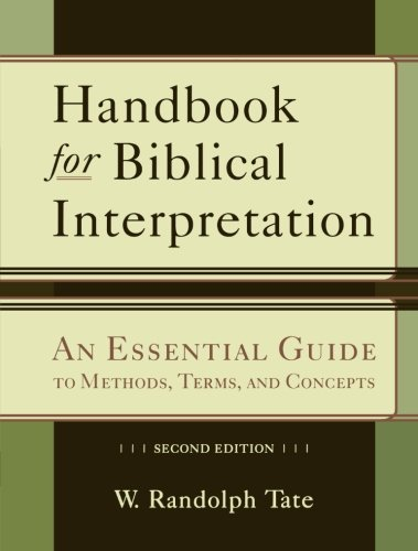 9780801048623: Handbook for Biblical Interpretation: An Essential Guide to Methods, Terms, and Concepts