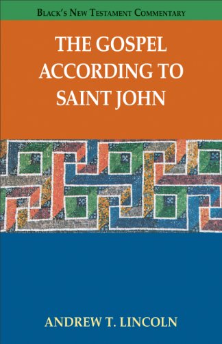the gospel according to st john The gospel according to st john: an introduction with commentary and notes on the greek text 2nd ed philadelphia westminster press, 1978 beasley-murray, george r john  word biblical commentary, 36.
