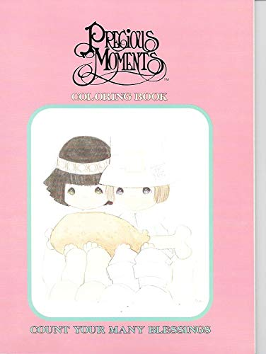 9780801050879: Precious Moments (Count Your Many Blessings) Coloring Book