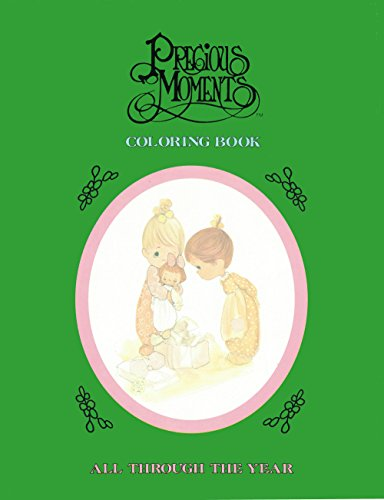 9780801052026: Precious Moments Coloring Book: All Through the Year