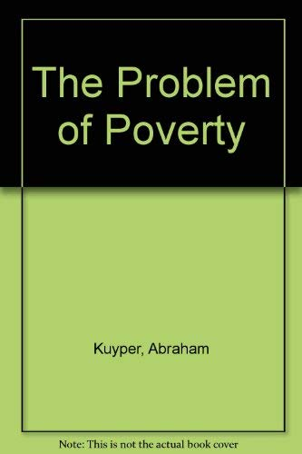 9780801052569: The Problem of Poverty