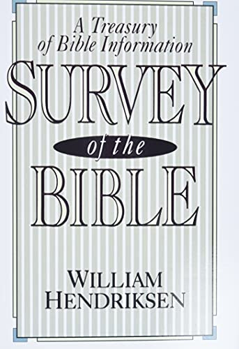 9780801054150: Survey of the Bible