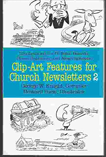 9780801054716: Clip-Art Features for Church Newsletters, No 2