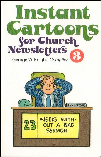 9780801054730: Instant Cartoons for Church Newsletters No 3