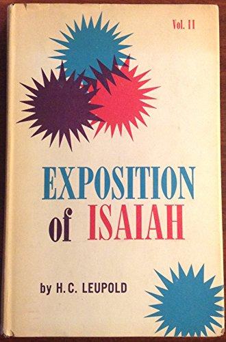 Expositon of Isaiah - Volume 2 Only: Leupold, H. C.