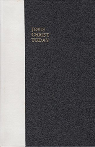 Jesus Christ today: A commentary on the book of Hebrews: Lightfoot, Neil R