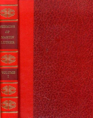 9780801056260: Sermons of Martin Luther (8 Volume Set)