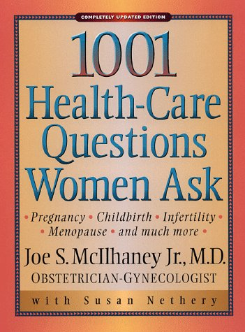9780801058103: 1,001 Health-Care Questions Women Ask