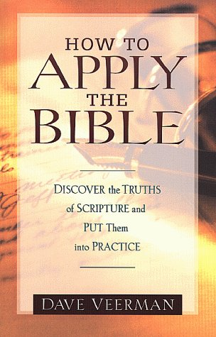 9780801059025: How to Apply the Bible