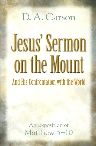 Jesus Sermon on the Mountain: And His Confrontation with the World (080105933X) by [???]