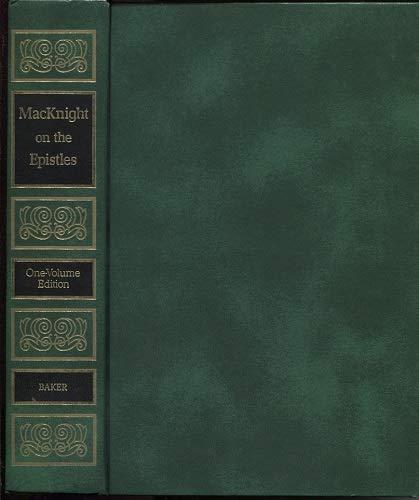 MacKnight on the Epistles: MacKnight, James