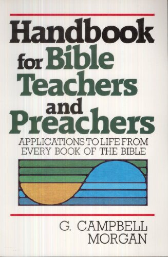 9780801061905: Handbook for Bible Teachers and Preachers