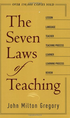 9780801064968: The Seven Laws of Teaching