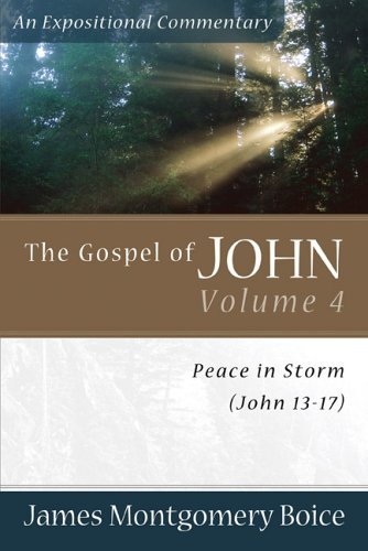 9780801065873: The Gospel of John: Peace in Storm (John 13-17) (Expositional Commentary)