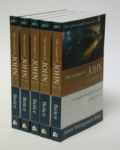 9780801065965: Gospel of John, The (5 Vol. Set)