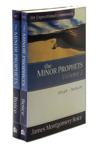 The Minor Prophets (2 Volume Set) (0801066484) by James Montgomery Boice