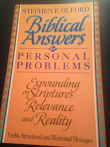 Biblical Answers to Personal Problems