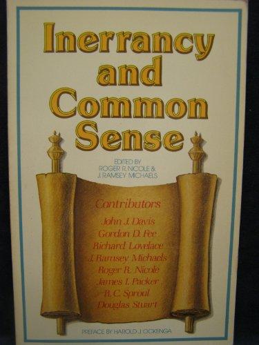 9780801067334: Inerrancy and common sense