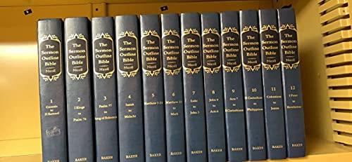 9780801067495: The Sermon Outline Bible (12 Volume Set)