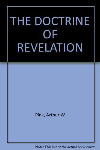 9780801070242: The Doctrine of Revelation
