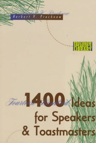 9780801071430: 1400 Ideas for Speakers and Toastmasters