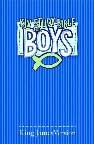 9780801072666: KJV Study Bible for Boys Blue Hardcover