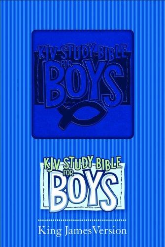 9780801072673: KJV Study Bible for Boys Blue Duravella