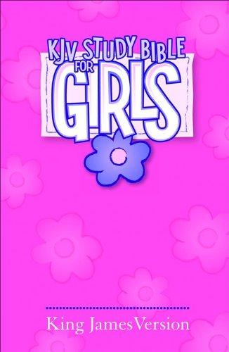 KJV Study Bible for Girls Pink Hardcover