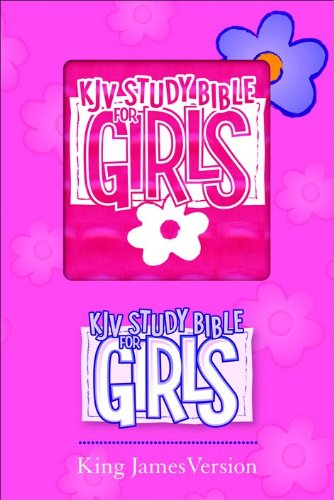 9780801072703: KJV Study Bible for Girls Pink Prism Duravella