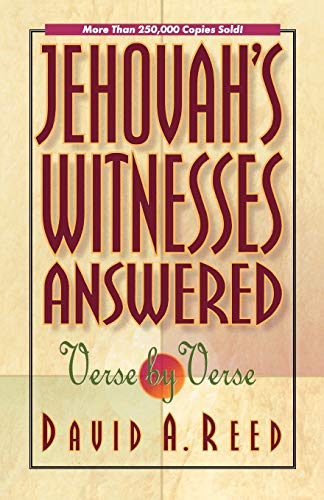 9780801077395: Jehovah's Witnesses Answered Verse by Verse