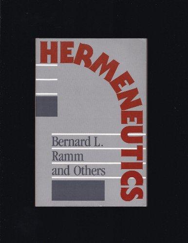 9780801077449: Hermeneutics
