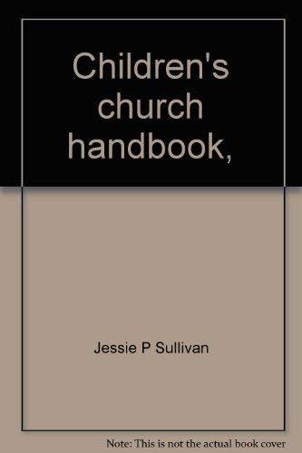 9780801079092: Children's church handbook,