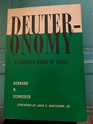 9780801080012: Deuteronomy : A Favored Book of Jesus