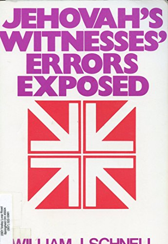 9780801080746: Jehovah's Witnesses Error's Exposed